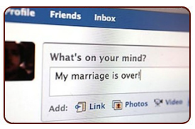 Social Networking During A Divorce